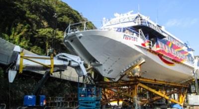 船舶検査工事および修繕